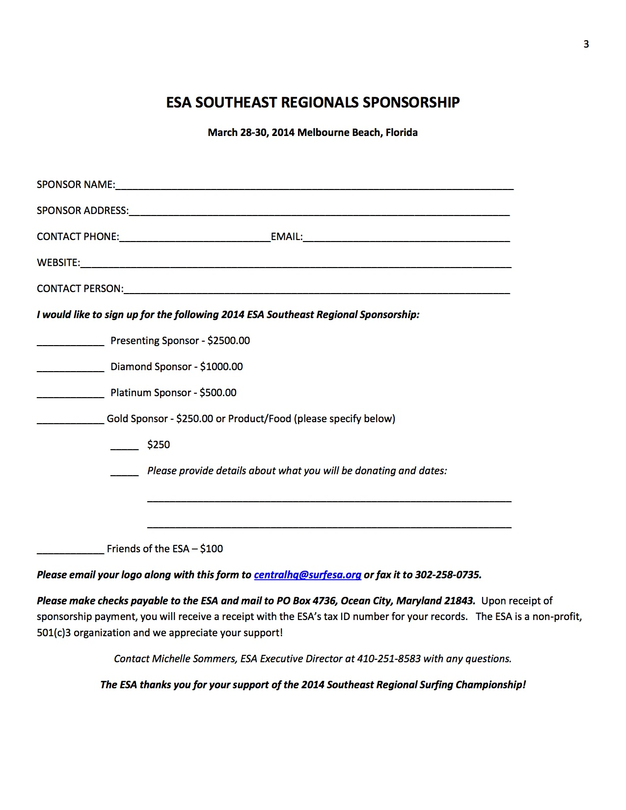 letter for sponsorship for event – Sponsor Letter for Event